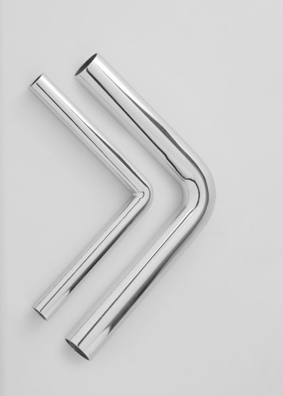 Two bent tubes with very tightbanding radii